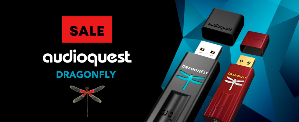 Суперцены на Audioquest DragonFly!