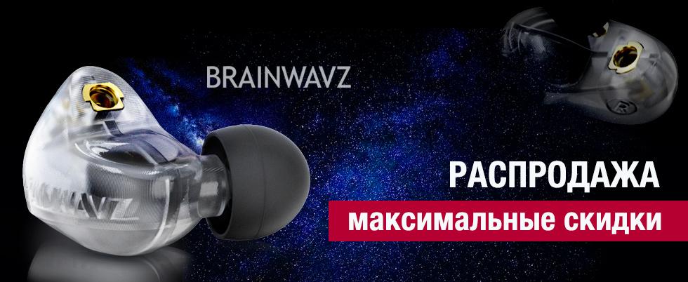 Суперцена на наушники Brainwavz!