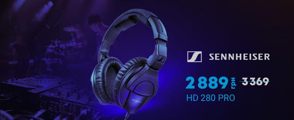 Суперцена на Sennheiser HD 280 Pro!