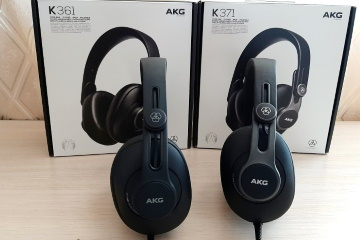 Обзор AKG K361 и AKG K371 – профессиональные студийные наушники