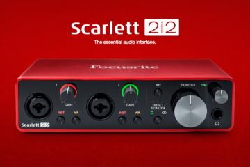 Экспертное мнение – аудиоинтерфейс Focusrite Scarlett 2i2