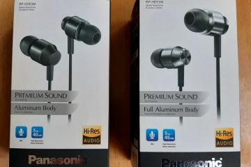 Внутриканальные наушники Panasonic RP-HDE3M и RP-HDE5M – две модели, два разных воплощения Hi-res звука