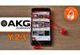 AKG Y23 | Обзор компактных внутриканальных наушников