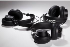 AKG выпустили складные студийные наушники