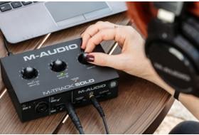 Гаряча новинка від M-Audio - доступний аудіоінтерфейс M-Track Solo!