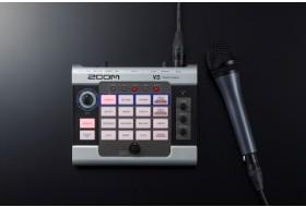 Вокальный процессор Zoom V3: блок мультиэффектов для сцены, студии, подкастов и т.д.