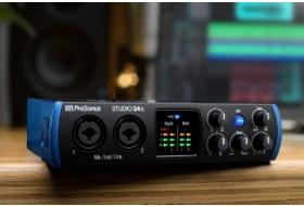 Эспертное мнение – аудиоинтерфейс Presonus Studio 24c