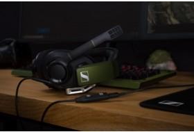Sennheiser GSP 550 - игровая гарнитура с эффектом объемного звука