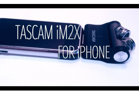 TASCAM iM2X Stereo Mic for iPhone