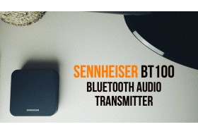 Sennheiser BT T100 | Подключаем Bluetooth наушники к старому телевизору