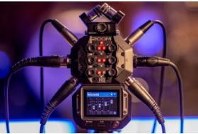 ZOOM H8 – футуристичный многоцелевой аудиорекордер