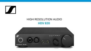 Усилитель Sennheiser HDV 820: Что такое DSD для аудиофилов (english)