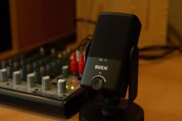 Rode NT-USB mini. Маленький мікрофон з великим потенціалом.