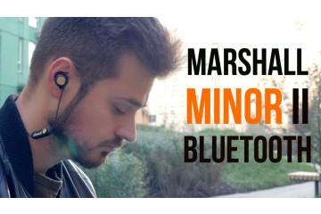 Marshall Minor II Bluetooth | Первый обзор беспроводных вкладышей от знаменитого бренда!