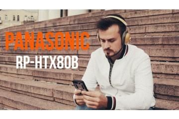 Panasonic RP-HTX80B | Обзор беспроводных стиляг!