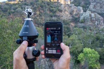 ZOOM H3-VR — портативний рекордер для запису просторового аудіо