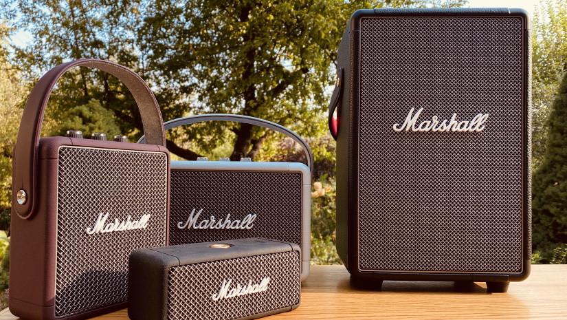 Emberton, Stockwell II, Kilburn II и Tufton - квартет музыкальных новинок от Marshall