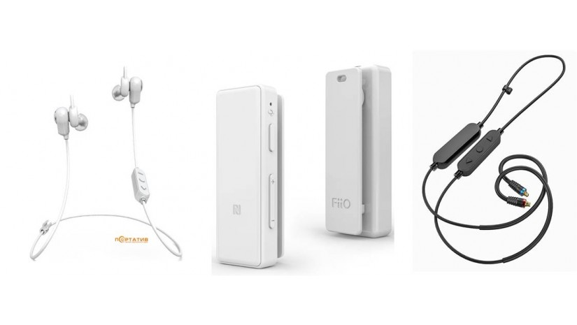 Беспроводные технологии от Fiio. Fiio FB1, Fiio mBTR,  Fiio RC-B