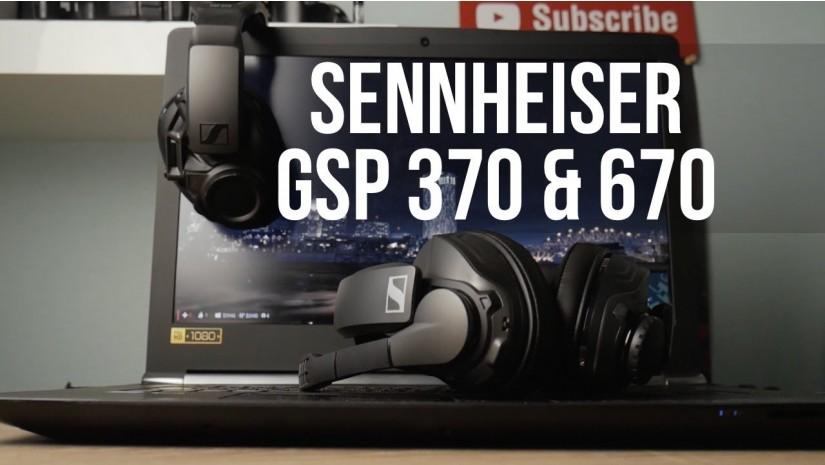 Обзор Sennheiser GSP 370 & GSP 670   Топовые беспроводные игровые гарнитуры