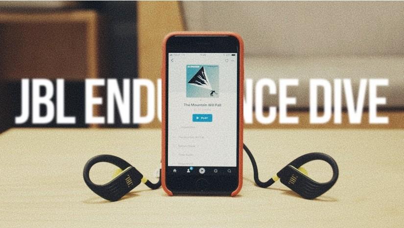 JBL Endurance Dive   Обзор Bluetooth-наушников с плеером