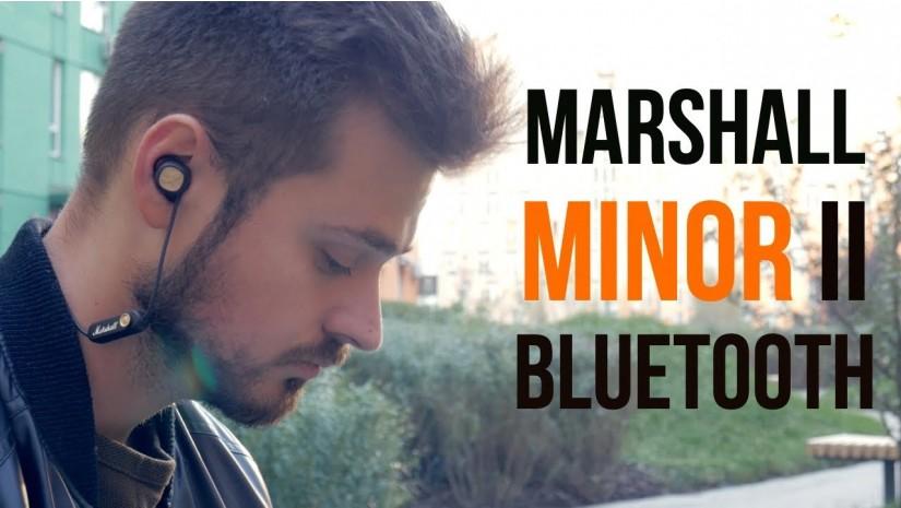 Marshall Minor II Bluetooth   Первый обзор беспроводных вкладышей от знаменитого бренда!