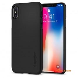 Spigen iPhone X Case Thin Fit Matte Black (SGP-057CS22108)