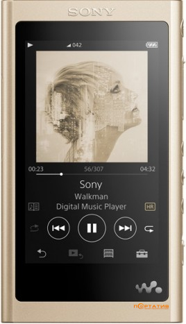 Sony NW-A55 Gold