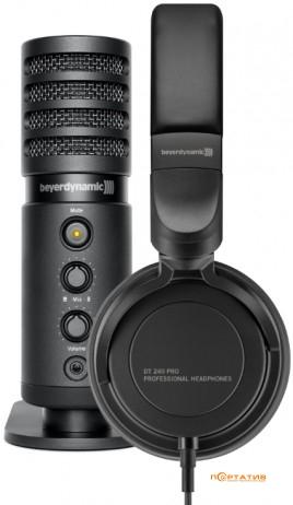 Микрофон Beyerdynamic FOX + наушники Beyerdynamic DT 240 Pro