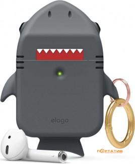Elago Shark Case for Airpods Dark Grey (EAP-SHARK-DGY)