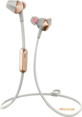 Fitbit Flyer Bluetooth Wireless Fitness Headphones Lunar Gray (FB601GY)