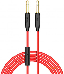 Hoco AUX 3.5 - 3.5 1m Cable with Mic Black (UPA-12)