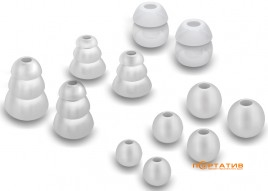 MEE Audio Eartips Combo Set Grey (6 pair TS6-CMB-P1-GY)