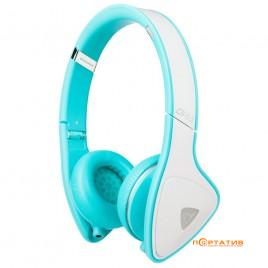 Monster DNA On-Ear Headphones White/Teal (MNS-128468-00)
