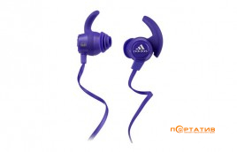 Monster by Adidas Sport Response Earbuds Purple (MNS-128650-00)