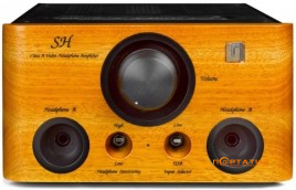 Unison Research SH Cherry Black Headphone Amplifier