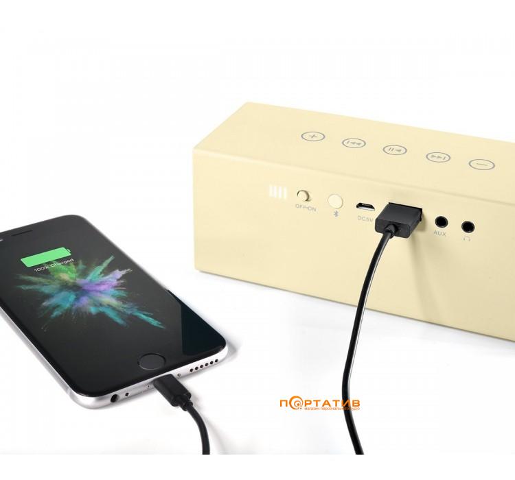 Fresh N Rebel Rockbox Brick Fabriq Edition Bluetooth Speaker Buttercup