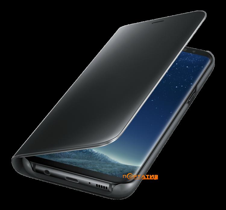 Samsung Galaxy S8 (G950) Clear View Standing Cover Black (EF-ZG950CBEGRU)