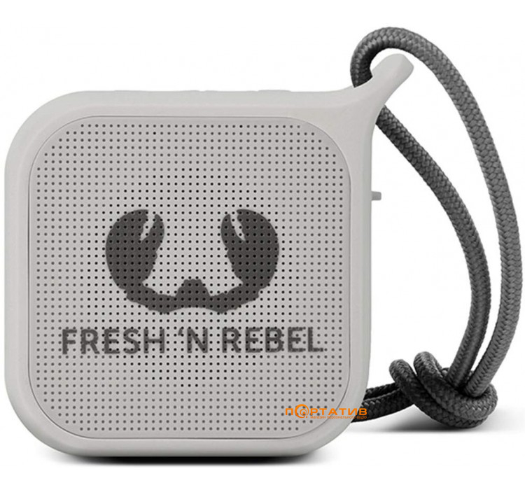 Fresh N Rebel Rockbox Pebble Small Bluetooth Speaker Cloud