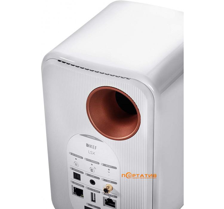 KEF LSX Wireless Gloss White