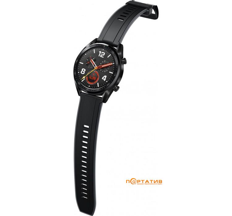 Смарт часы Huawei Watch GT Black (FTN-B19)   купить в Киеве и ... f21c2d8bab896