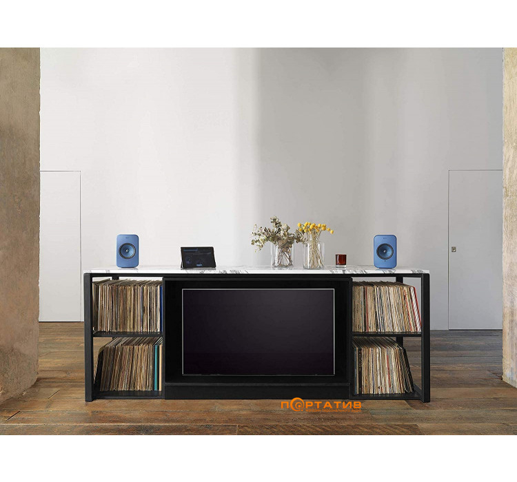 KEF LSX Wireless Blue