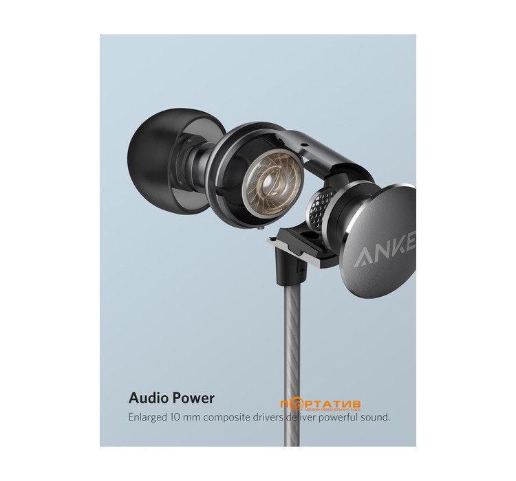 Anker SoundBuds Verve with RC Gray
