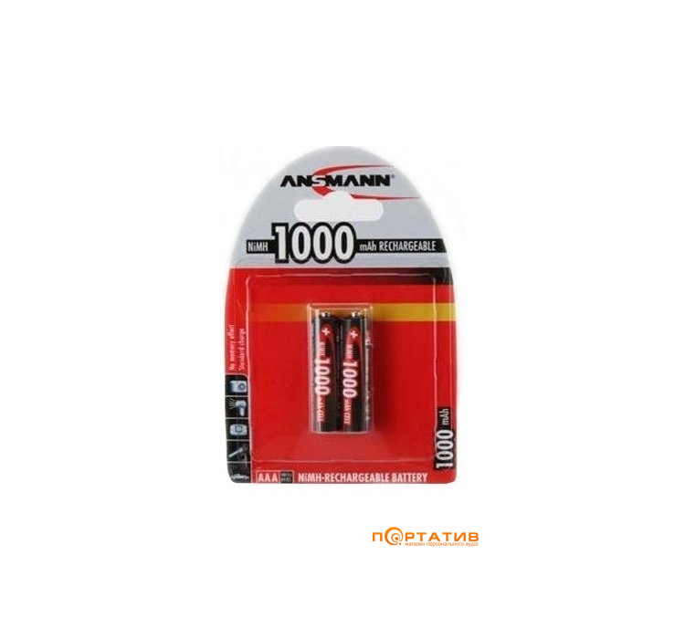 Ansmann AAA 2 X 1000 mAh
