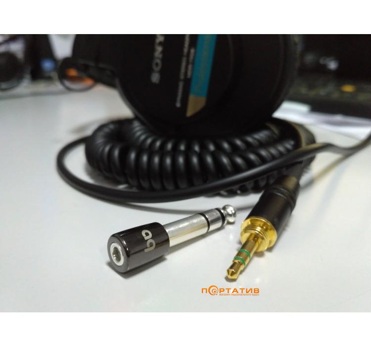 AUDIOQUEST Headphone Plug Adaptor 3.5 >1/4