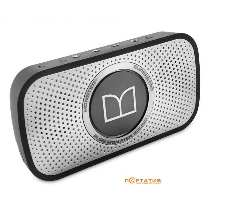 Monster Superstar High Definition Bluetooth Speaker Grey (MNS-129260-00)