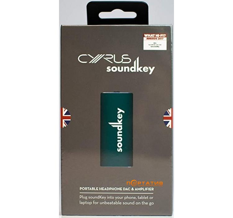 Cyrus SoundKey Teal