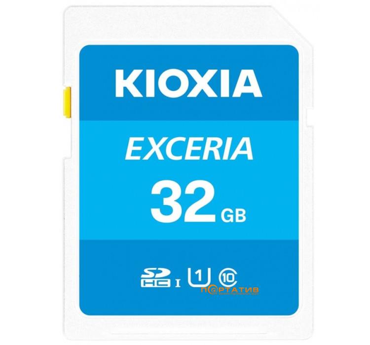 Kioxia SDHC Card Exceria 32GB Class 10 UHS U1 (LNEX1L032GG4)