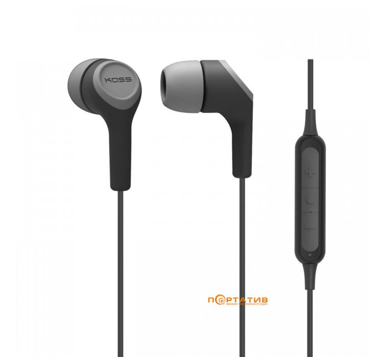 KOSS BT115i Black/Grey