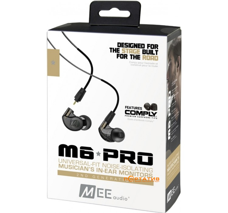 MEE audio M6 PRO 2nd Gen Black