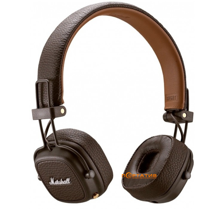 Marshall Major III Bluetooth Brown - купить Наушники в Киеве ... 1bbf4e34cfedb